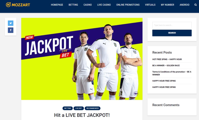 Biggest wins at Mozzartbet: review of jackpot bonuses